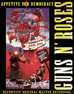 NEW GUNS N' ROSES - WELCOME TO DIVER CITY : APPETITE FOR DEMOCRACY TOUR 2012##Hu