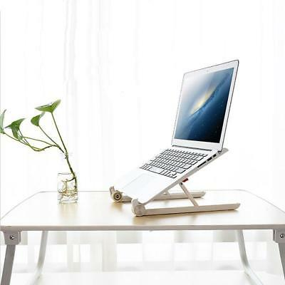 Adjustable Portable Laptop Computer Stand Desk Table Tray On Bed  Holder Prof