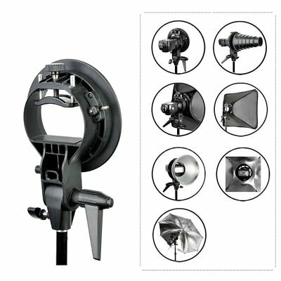 Godox S-Type Bracket Bowens S Mount Holder Studio Speedlite Flash Softbox Snoot