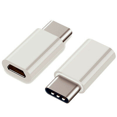 10x Micro USB to USB 3.1 Type-C USB Data Adapter For Oneplus 3 Phones Huawe U5Q5