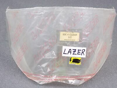 Lazer Motorcycle Snowmobile Helmet Face Shield Mask Visor Screen Mx4 Uc Clear