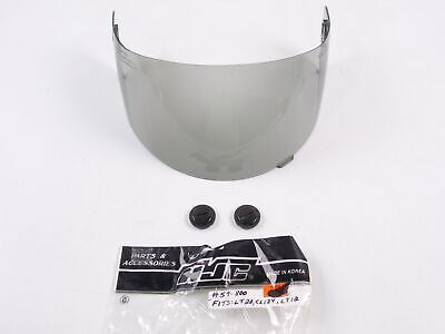 Hjc Motorcycle Snowmobile Atv Helmet Smoke Face Shield Mask Visor Screen 59-800
