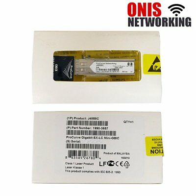 New Sealed HPE J4858C 1000BASE-SX SFP 850nm Transceiver Module (US Shipping)