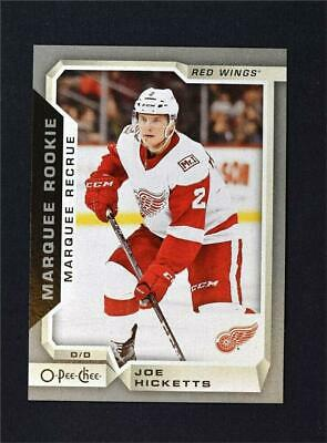 18 19 O-PEE-CHEE OPC Rookie Rc  502 Joe Hicketts Red Wings  55270 ... 78d58fed2