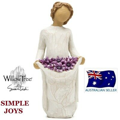 SIMPLE JOYS Demdaco Willow Tree Figurine By Susan Lordi BRAND NEW IN BOX