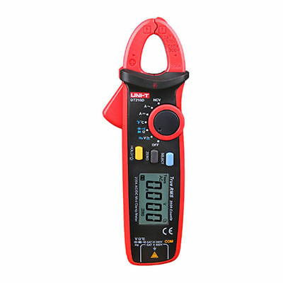 UNI-T UT210D Digital AC/DC Current Voltage Resistance Capacitance Clamp Meter