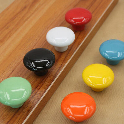 Fashion Solid Ceramic Door Knobs - Cupboard Cabinet Kitchen Drawer Pull Handle
