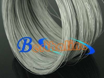 2m = 6.6 FT Titanium Ti Wire for Grade 1 One GR1 ASTM B348 Diameter 1mm E0Z-12