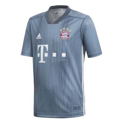 Adidas Bayern Munich 3rd Junior Short Sleeve Jersey 2018/2019