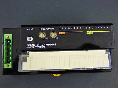 Omron DRT2-MD16-1 8- Input-Output Remote I/O Terminals w/ Transistors