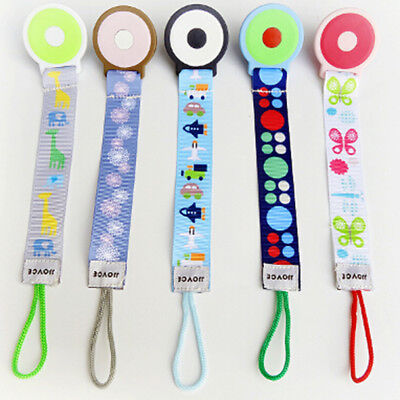 New Baby Infant Dummy Pacifier Chain Silicone Teether Soother Nipple Leash Strap