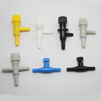 5/10Pcs Fish Tank Air Line Flow Control Regulator Valve Aquarium For 4mm Airline