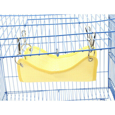 Cute Cloth Hamster Rabbit Guinea Pig Chinchilla Hanging Pet Hammock Bed NE8Z