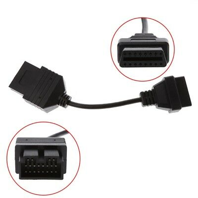 20Pin Male To 16Pin Female OBD2 Diagnostic Connector Adapter Cable For Kia