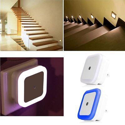 Automatic Light Control Sensor Wall LED Night Light Lamp Room Home Stairs Hot