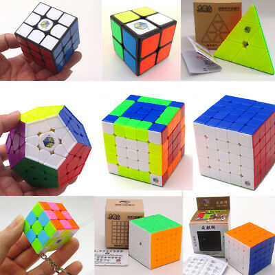 Yuxin Magic Cube Speed Cube 2x2 3x3 4x4 5x5 Megaminx Pyraminx Magic Puzzle Toys