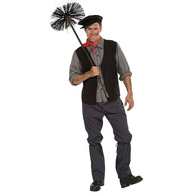 Adult Victorian Chimney Sweep Mens #Costume For Book Day Fancy Dress Party