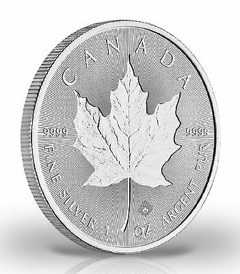 Kanada Maple Leaf 5$ 2018 Incuse 999,9er Silber 1ozø38mm