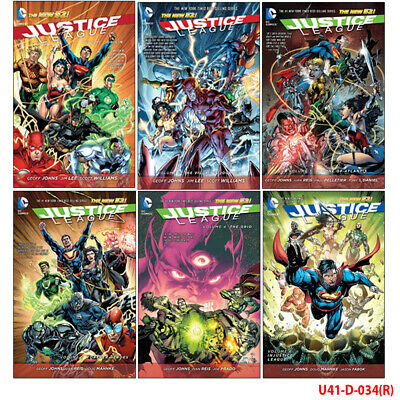 Justice League Collection 3 Books Set Vol 4-5 The Grid Forever Heroes Injustic