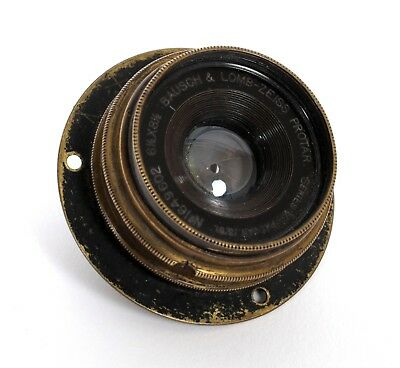 Bausch and Lomb Zeiss Protar Series V 141mm F18 EX. W. A. lens (covers 8x10)