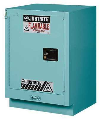 Corrosive Safety Cabinet,Blue,15 gal. JUSTRITE 8825122
