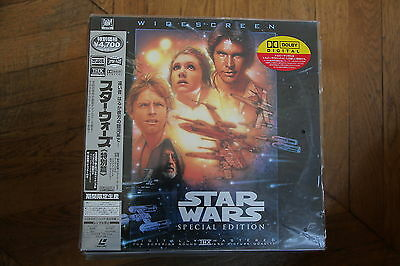 Star Wars A New Hope Special Edition 1997 Laserdisc LD PILF-2468 Harrsion Ford