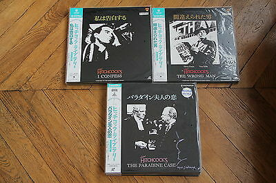 The Paradine Case 1947 Laserdisc LD Japan Ntsc Alfred Hitchcock, Peck, Valli