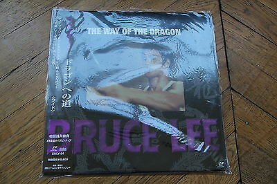 The Way of The drago + OBI Ntsc Japan version CLV Laserdisc LD Bruce Lee SHLY-95