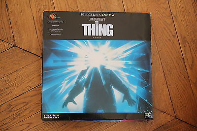 The THING CARPENTER WS VF PAL LASERDISC Kurt Russell, Wilford Brimley