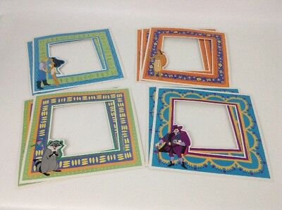 "Pocahontas Picture Frame Cardboard Inserts Craft 7.5"" Vintage 90's Lot of 9 Pcs"