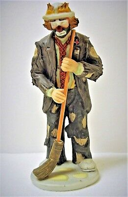 Flambro Miniature Emmett Kelly Jr Signature Collection **IN THE SPOTLIGHT**