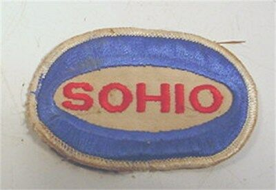 Vintage Sohio Gasoline Embroidered Patch 3""