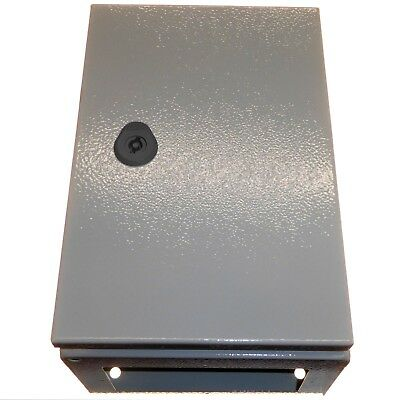 Metal IP65 Electrical Enclosure with Steel Plate 300 x 200 x 150mm Switchgear