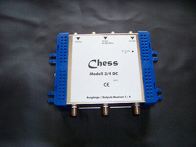 Chess - Multischalter - SAT - Multiswitch - 3/4 DC - blau