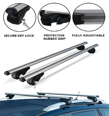 Aluminium Roof Bars for Ford KUGA 2013-2018 With Raised Roof Rails