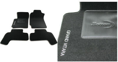 SUZUKI GRAND VITARA 3 PORTE SET TAPPETINI AUTO IN GOMMA . TAPPETI TOP QUALITA