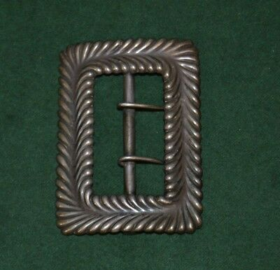 Antique 1880s Tiffany & Co. Sterling Silver Large Buckle 7543M5420