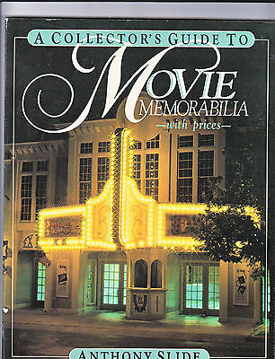 A Collectors Guide To Movie Memorabilia/prices-Slide-1St 1983-Illustrated Sc-Nf