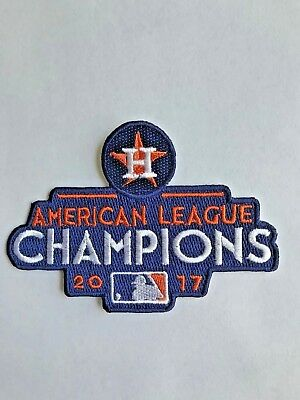 Houston Astros AL Champs MLB Patch Minute Maid Iron On Sew Shirt Jacket Hoodie