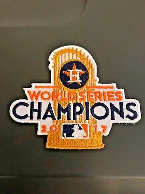 Houston Astros MLB World Series Champs 2017 Minute Maid Iron On Sew Shirt Jacket
