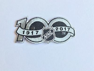 NHL 100 Years Jersey Logo Patch Iron On Sew Collect Shirt Jacket Bag In Stock