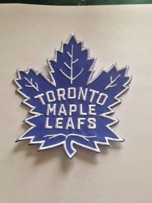 """Toronto Maple Leafs NHL Jersey Patch 4"""" Air Canada Iron on Sew on Hoodie Jacket"""