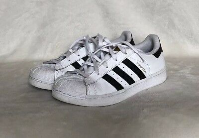 kids adidas Superstar Shoes - White Size 2