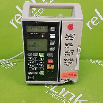 Baxter Healthcare Flo-Gard 6201 Single Channel Infusion Pump Medical
