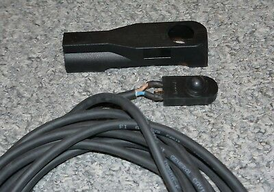 Crouzet genuine Tig Torch rubber switch / button with holder & cable NEW BINZEL