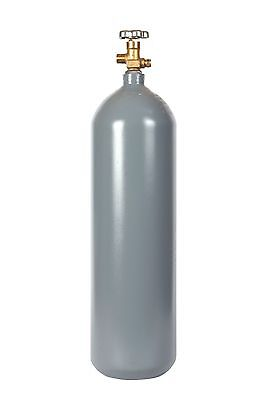 15 lb Steel CO2 Cylinder Reconditioned  Fresh Hydro CGA320 Valve - FREE SHIPPING