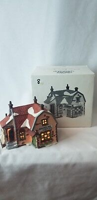 Dept. 56 Dickens Village 1988 Booter and Cobbler Handpainted Porcelain 5924-2