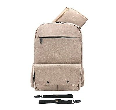 Backpack Diaper Bag Men Women w Changing Pad Extra Large Baby Travel Bag NEW!
