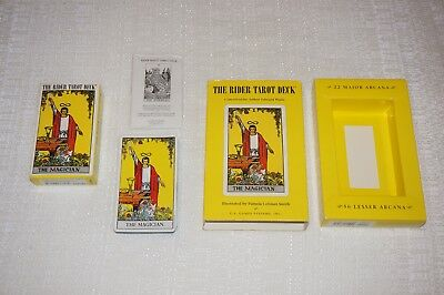 The Rider Tarot Deck 78+2 Card Deck Wr78 By Pamela Colman Smith
