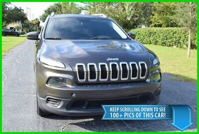 Jeep Cherokee LATITUDE SUV - 25K LOW MILES - BEST DEAL ON EBAY! grand trailhawk overland cadillac srx ford edge escape honda cr-v crv explorer